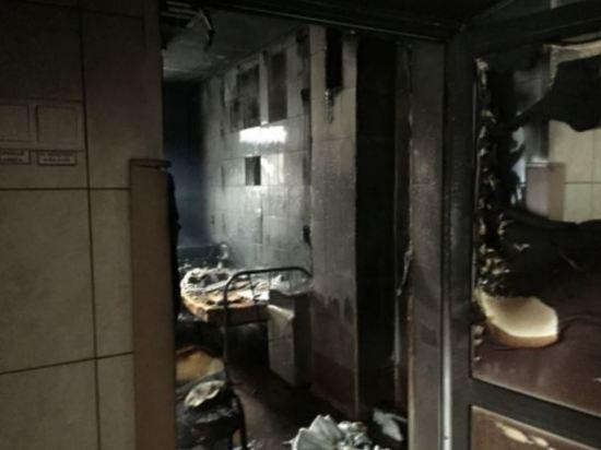 При пожаре в новосибирской больнице погиб пациент с онкологией