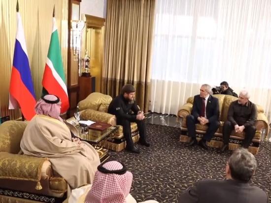 Кадыров обсудил экономику с советником королевского двора Саудовской Аравии
