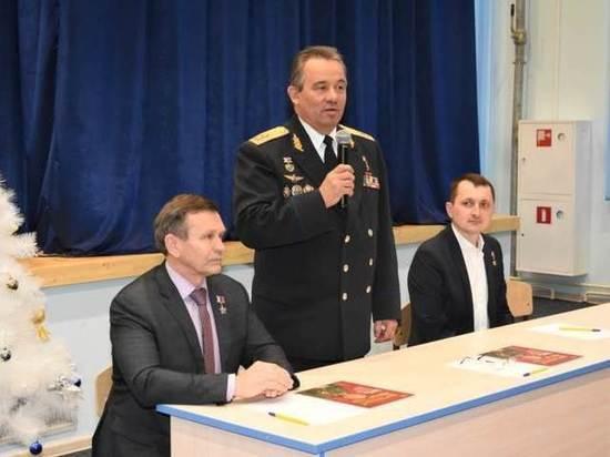 В Чувашском кадетском корпусе прошел урок мужества