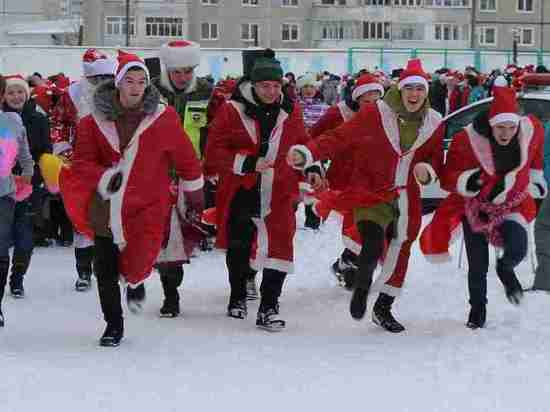 В Тамбове Деды Морозы пробегут 2019 метров