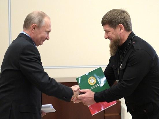 Кадыров рассказал о том, какой Путин «красавчик»