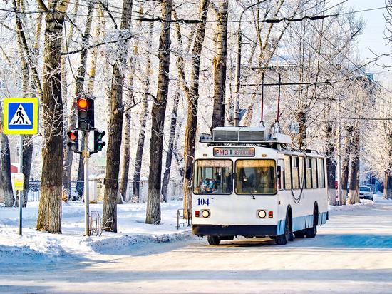 Троллейбусное управление Рубцовска отмечает юбилей