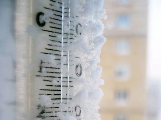Температура в Омской области может опуститься ниже -40°