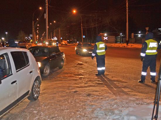 В Тамбове во время рейда полицейские задержали 17 нетрезвых водителей