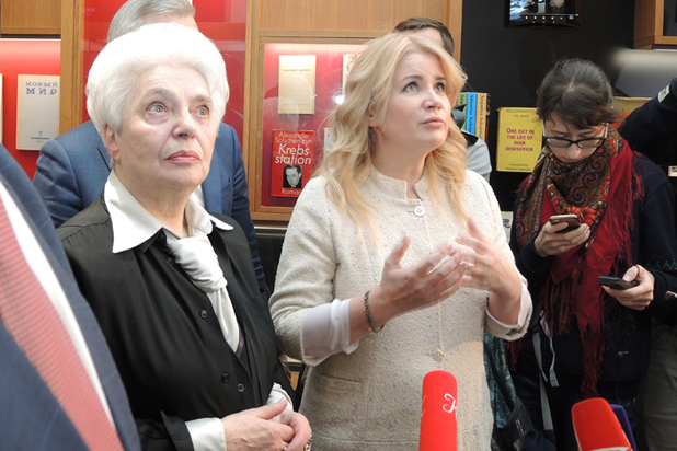 На открытии музея-квартиры Солженицына в Москве его вдова поделилась воспоминаниями