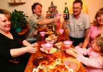 На Новый год принято метать на стол все что есть