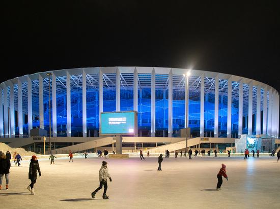 Развлекательную площадку у стадиона «Нижний Новгород» посетили 30 тысяч человек