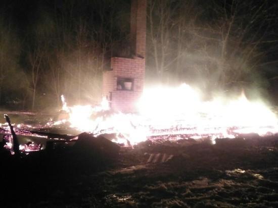 В Чувашии из-за неисправной печи сгорел охотничий дом