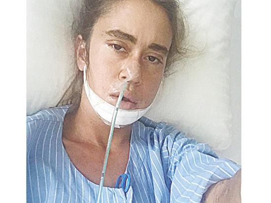 Дочь Любови Успенской после операции показала свои картины-талисманы