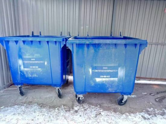 В Ижевске началась замена мусорных баков