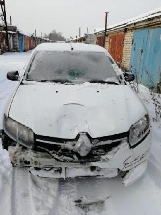 В Ярцевском районе под колеса иномарки попала пожилая женщина
