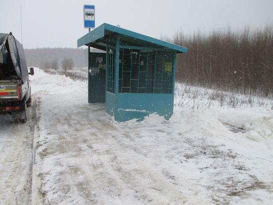 В Пичаево пенсионер умер на автобусной остановке