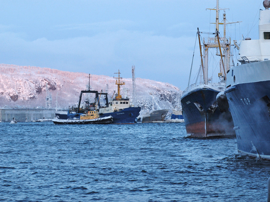 Цены на разгрузку рыбацких судов в Мурманске взлетели до небес