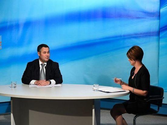 От цифровизации к газификации: Игорь Руденя ответил на вопросы телезрителей