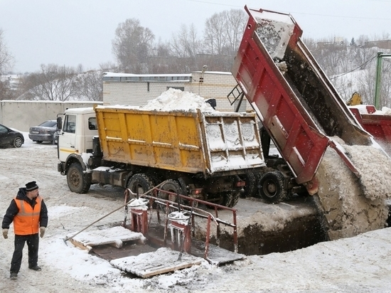 Две станции снеготаяния построят в Нижнем Новгороде в 2019 году