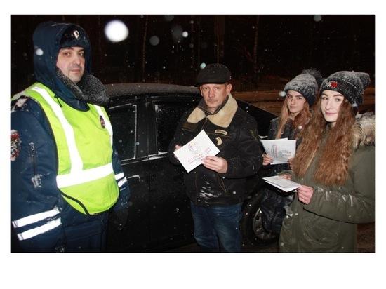 В Серпухове госавтоиспекторы провели акцию «Автокресло спасает жизнь!»