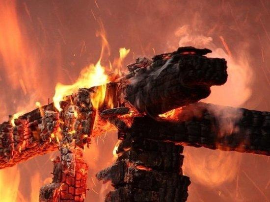 В Староюрьевском районе при пожаре погиб 58-летний мужчина