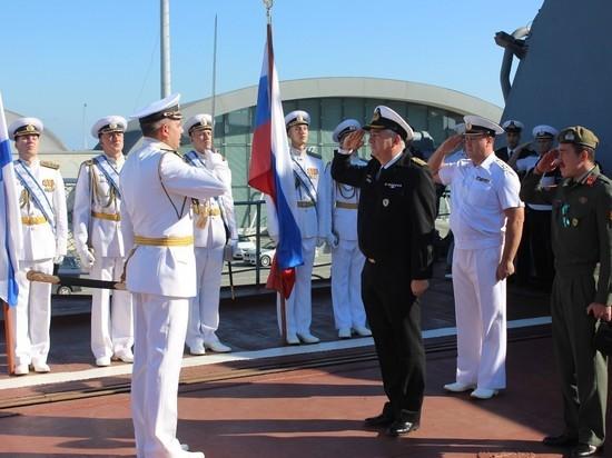 БПК «Североморск» завершает заход на Кипр