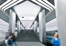 Колоннами в виде крыла самолета решили оформить архитекторы новую станцию метро «Авиамоторная» Большой кольцевой линии
