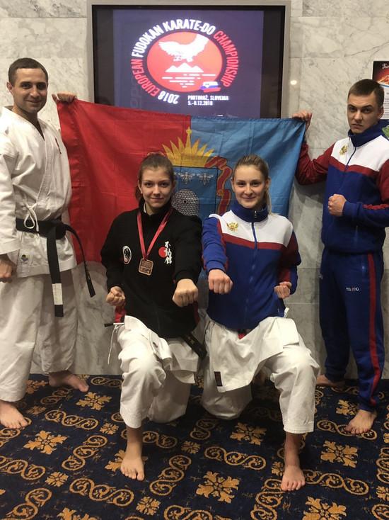 Тамбовчане привезли три медали с первенства Европы по фудокан карате