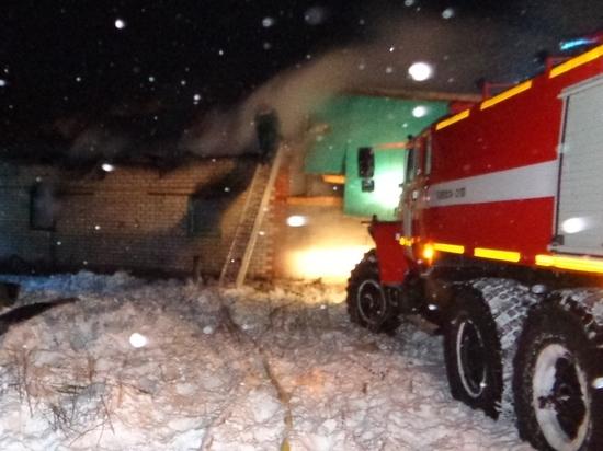 Погорелец погиб при новом пожаре в Чувашии
