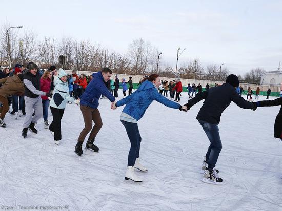 В зимние каникулы в Твери будут работать городские катки