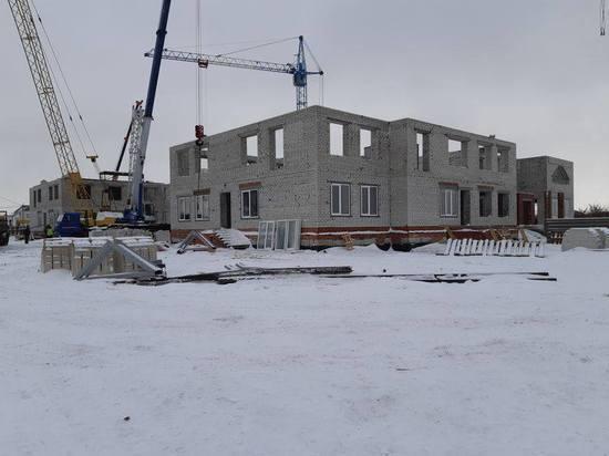 На севере Тамбова строят два новых детских сада