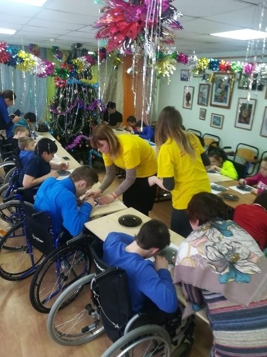 Волонтеры подарили праздник детям из Темниковского интерната