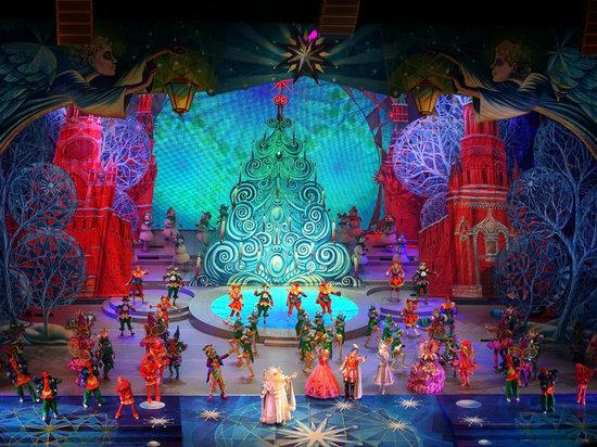 Дети из Мордовии увидели главное новогоднее представление России