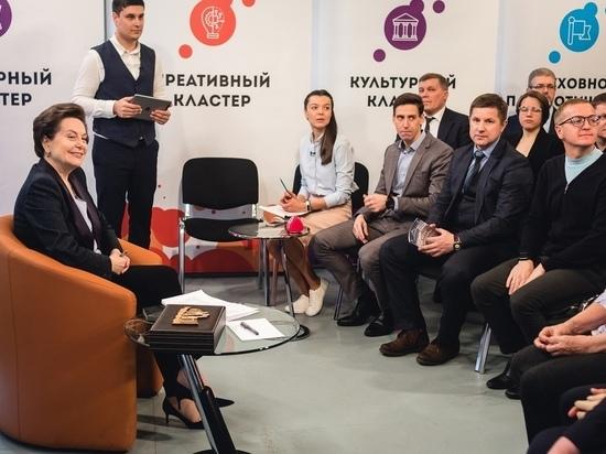 Лучшие социальные проекты представилиНаталье Комаровой