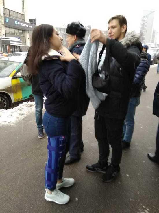 Одна из сестёр Хачатурян сломала ногу