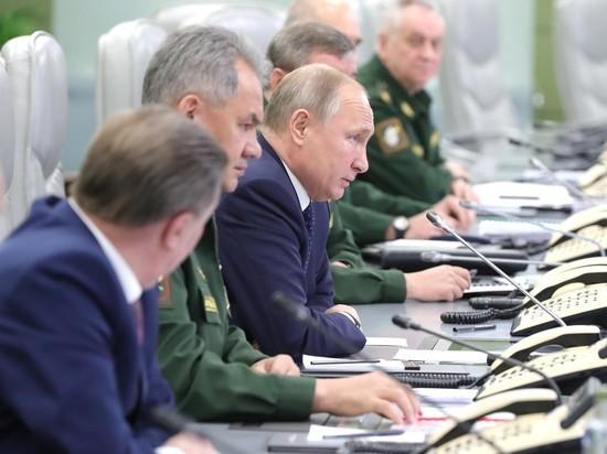 Минобороны в присутствии Путина испытало ракету