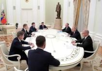 Владимир Путин, наконец, провел встречу с главами регионов, победившими в результате второго тура или повторных выборов
