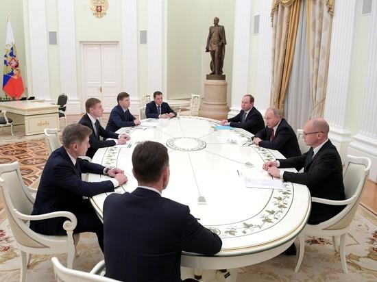 На встречу с Путиным «несистемные» губернаторы пришли растерянными