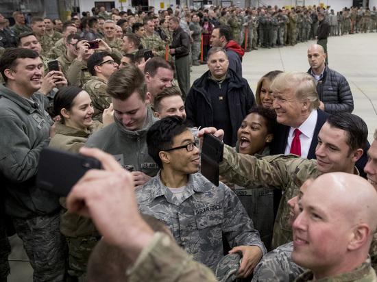 Трамп тайно слетал в Ирак и рассекретил своих спецназовцев