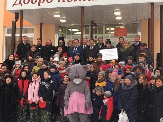 Новая школа открылась в поселке Фролищи