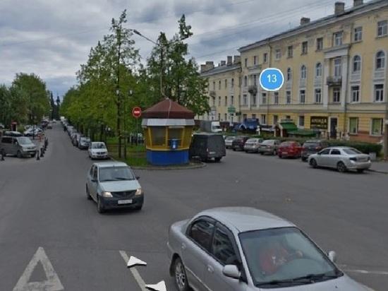 В центре Петрозаводска появилась Петербургская улица