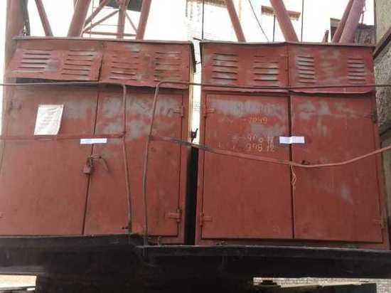 В Омской области остановили работу опасных башенных кранов