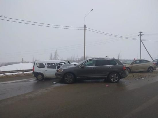 Пять человек пострадали в ДТП в Ясногорском районе