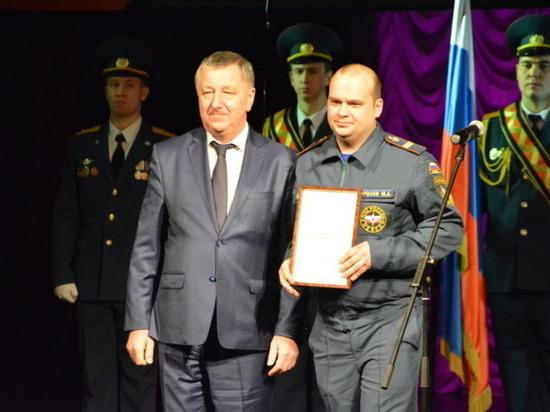 В Иванове наградили лучших спасателей региона