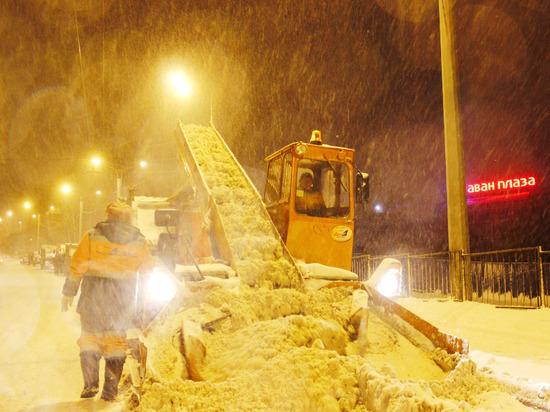 С улиц Чебоксар вывезли более 1,7 тысячи тонн снега
