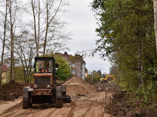 Автодорогу по улице Возрождения в Вологде продолжат ремонтировать