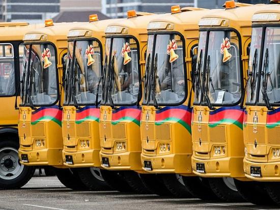 В муниципальные образования края переданы 42 новых школьных автобуса
