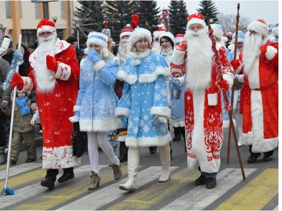В новогоднюю ночь и накануне в центре Чебоксар ограничат движение