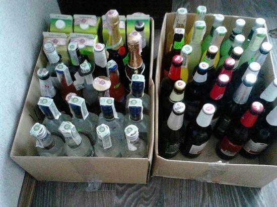 Житель Рассказово хотел продать 7 тысяч бутылок контрафактного алкоголя