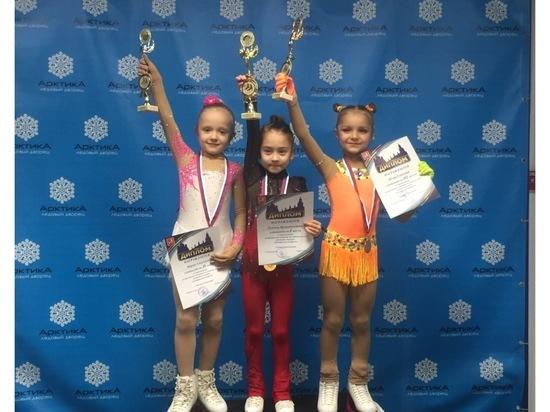 Юная фигуристка из Серпухова заняла второе место на соревнованиях
