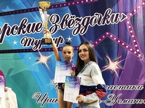 Семилетняя мордовская гимнастка привезла «золото» из Новогорска