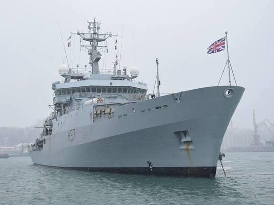 """По данным издания, британский корабль """"Эхо"""" вооружен хуже украинских катеров"""
