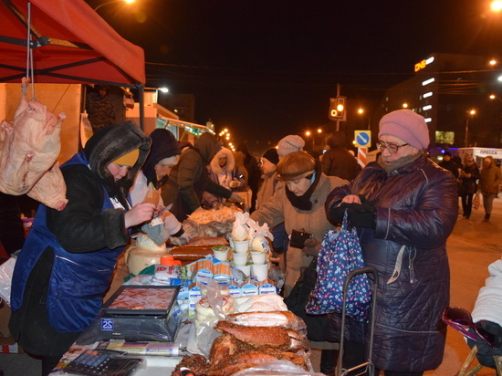 В Ульяновске организуют последние ярмарки перед Новым годом