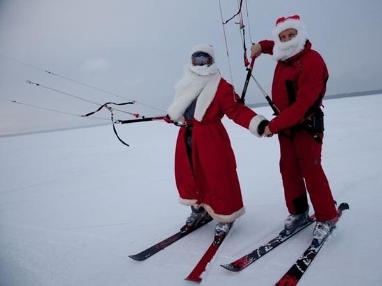 31 декабря в Чебоксарах пройдет кайтсерф-парад Дедов Морозов